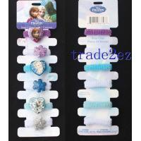 2016622141327Frozen Elsa Anna Princess Rubber Bands Towel Ring Manufactures