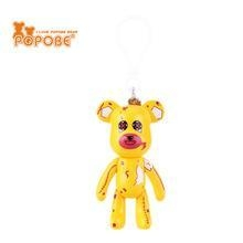 Quality High Quality Bear Shape Keychain Plastic Key Ring Promotion Gift Decoration for sale