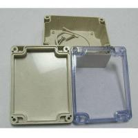 Plastic injection parts ABS sealed plastic waterproof enclosure Manufactures