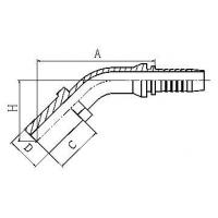 45Metric DIN2353 card sets of straight pipe Manufactures
