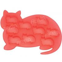 RENJIA cat ice cube tray cat shape silicone ice tray silicone ice cube tray cat shape Manufactures