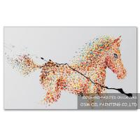 Number:OSM-An100153Home decoration modern frameless animals paintings on canvas Manufactures