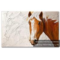 Number:OSM-An10006Modern OriginalAbstract OilpaintingsHorse on canvas Manufactures