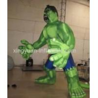 Giant Model Inflatable Hulk For Advertising Manufactures