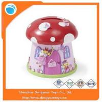 Coin Banks Wholesale Mushroom Shape Piggy Bank Money Saving Box Manufactures