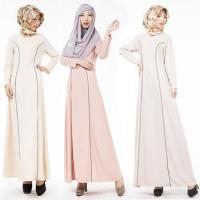 2016 Aliexpress hot design long sleeves O neck casual muslim clothing for women MSL0020 Manufactures