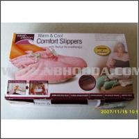 HD0211 Product  Warm & Cool Comfort Slippers