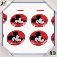 Promotional Gifts Disney cartoon Epoxy Dome Sticker Manufactures