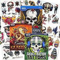 Savvi Classic Tattoos Party Pack (3 Full-sized Bags ~ 125 Tattoos) Manufactures