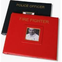 Personalized Firefighter and Police Officer 12 x 12 Memory Book Manufactures