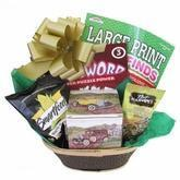 Men's Vintage Gift Basket for Birthday, Retirement, Get Well