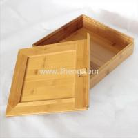Bamboo gift box Manufactures