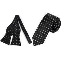 Polka Dot Tie Or Bow Ties For Men Manufactures