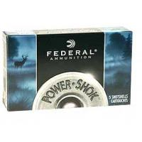 "Federal PowerShok, 20 Gauge, 2.75"", Max Dram, .75oz, Rifled Slug, Hollow Point, 5 Round Box Manufactures"