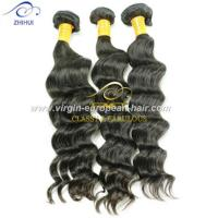 No tangle no shedding 100% unprocessed wholesale price brazilian virgin deep weave hair Manufactures