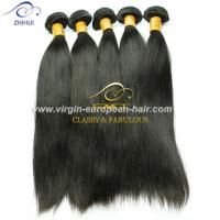 Buy cheap ZHIHUI Factory Directly Sales Straight Human Hair, 8A Brazilian Virgin Hair Weft from wholesalers