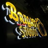 cutomized led 3D outdoor backlit channel lighted letters signs Manufactures