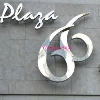 gold silver polished mirror stainless steel alphabet letters and door numbers Manufactures