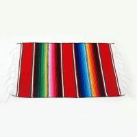 China Mexican Striped Serape Placemat (color varies) on sale