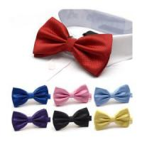 Wholesale Nice Looking Colorful satin necktie bowtie Manufactures