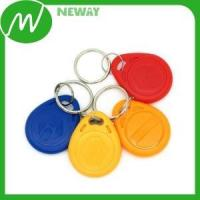 Plastic Gear ABS Rfid Key Chain ID Card Tag Manufactures