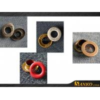 Eyelet Metal Grommet Eyelets Clothes in Colours Manufactures