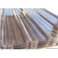 Polycarbonate Corrugated Roofing Sheets Manufactures