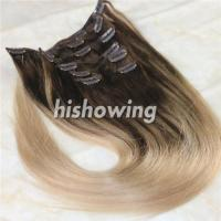 HAIRS (CLI-C-04) Clip In 2T Color #4&18 Manufactures