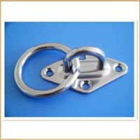 Buy cheap Stainless Steel Diamond Pad Eye with Ring from wholesalers