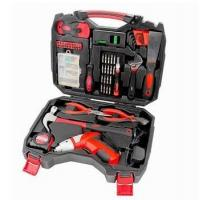 China 160 Piece Household Tool Kit with 4.8V Cordless Screwdriver on sale