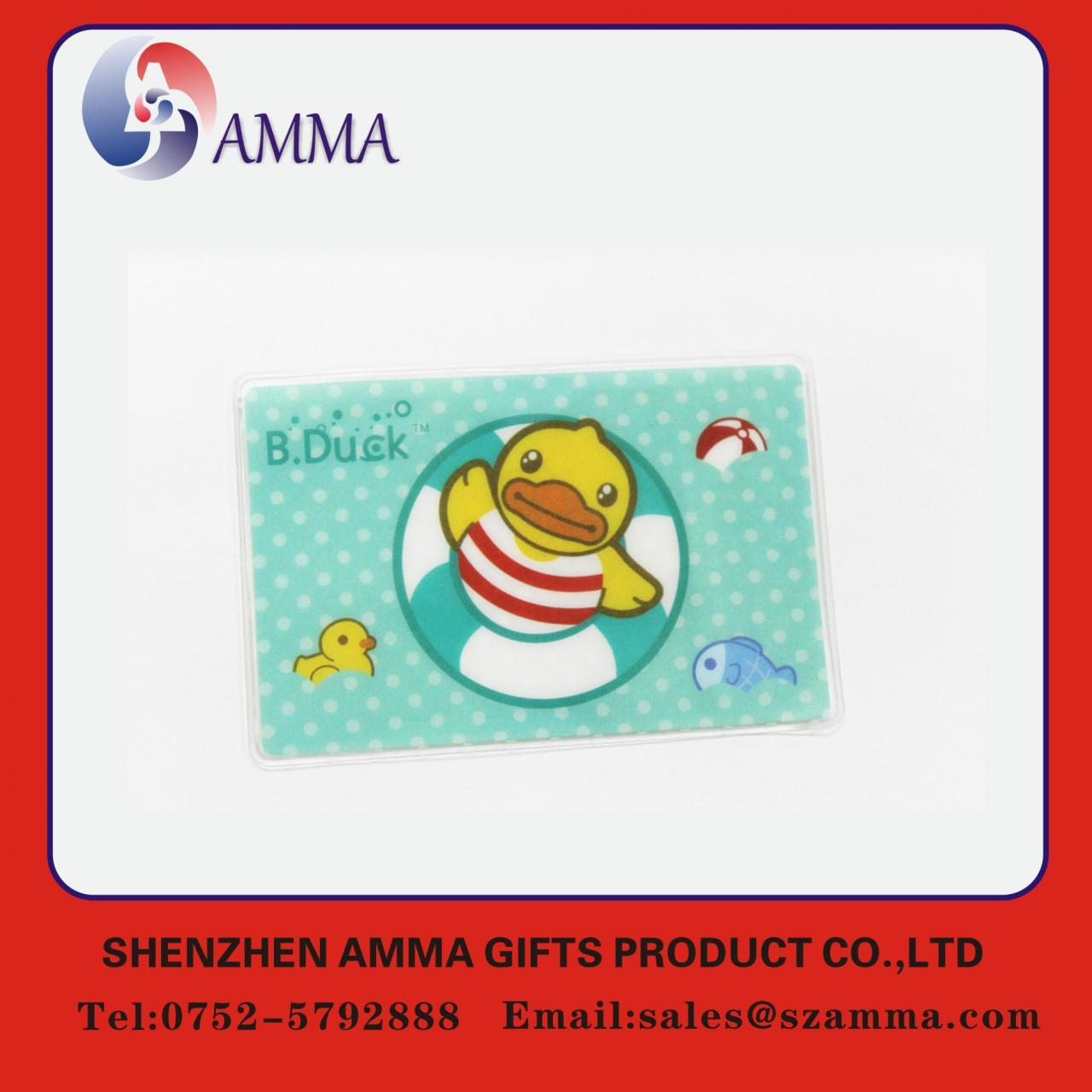 Soft plastic ID card holder Manufactures