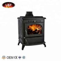 Buy cheap Classical Matt Black Freestanding Cast Iron Wood Stoves For Home from wholesalers