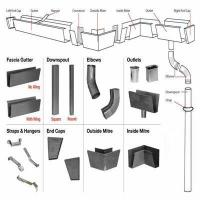 Buy cheap Metal Rain Gutter System from wholesalers