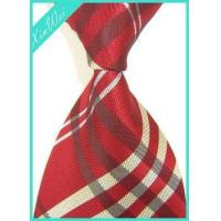 Custom Men's Brand Woven Poly Tie Manufactures