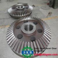 Stable working low noise machine parts crown gear