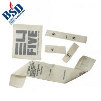 Buy cheap Cotton tape print label from wholesalers