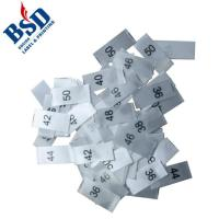 Buy cheap Size print label for garment from wholesalers