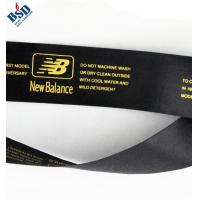 Buy cheap Black satin ribbon care label from wholesalers