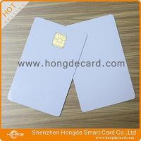 Contact IC Card FM4442 blank white card Manufactures