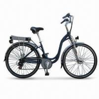 36V/250W Electric Bike with Half Twist 7SP Shifter and Maximum Speed of 26kph Manufactures