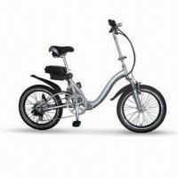 Electric Folding Bike with 24V/250W Brushless Geared Alloy Spoke Hub Manufactures